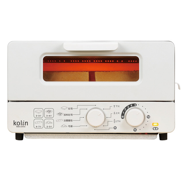 歌林 10公升雙旋鈕蒸氣烤箱